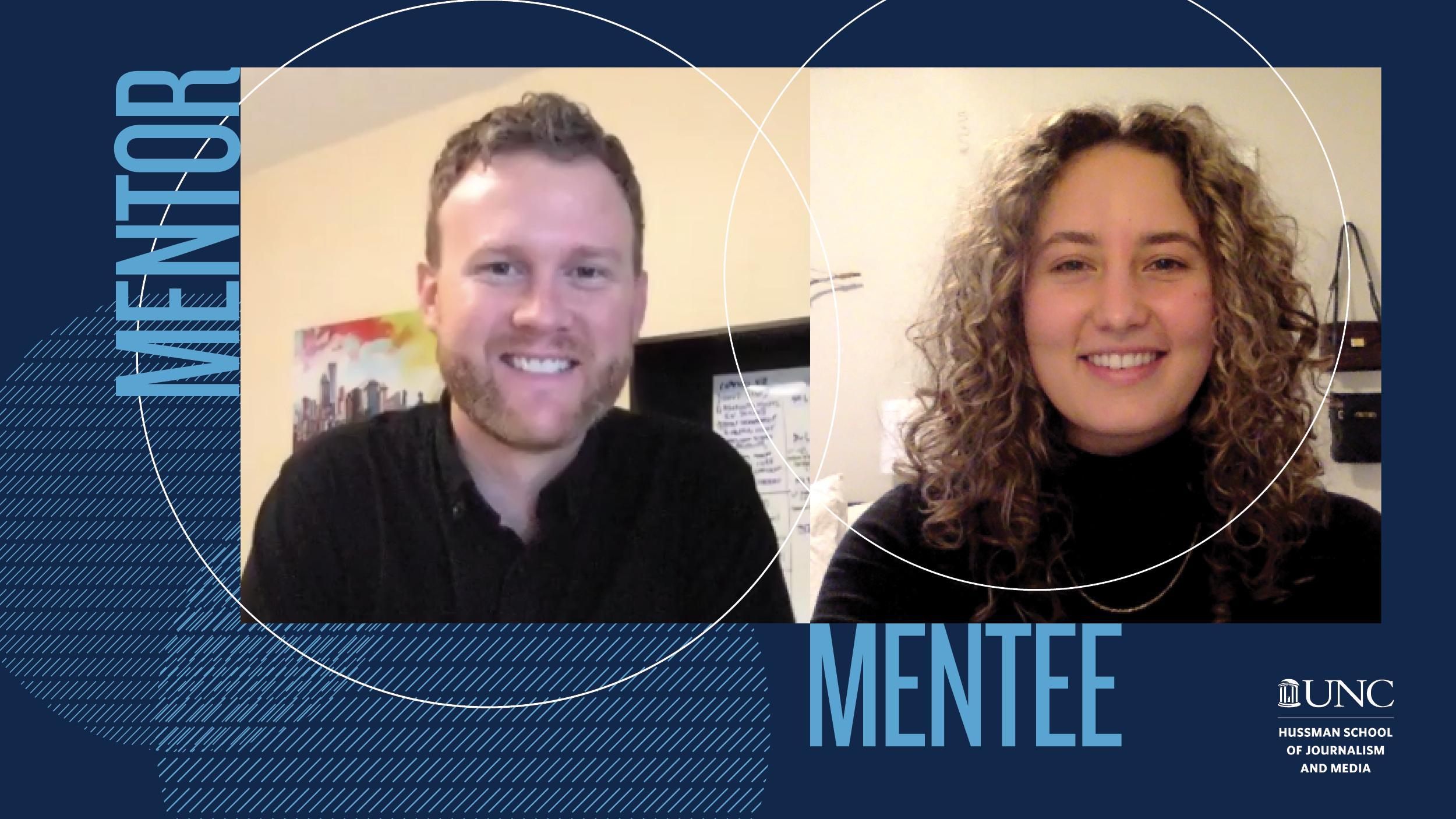 Mentor/mentee pairing Robbie Marshall/Isabel Hewgley