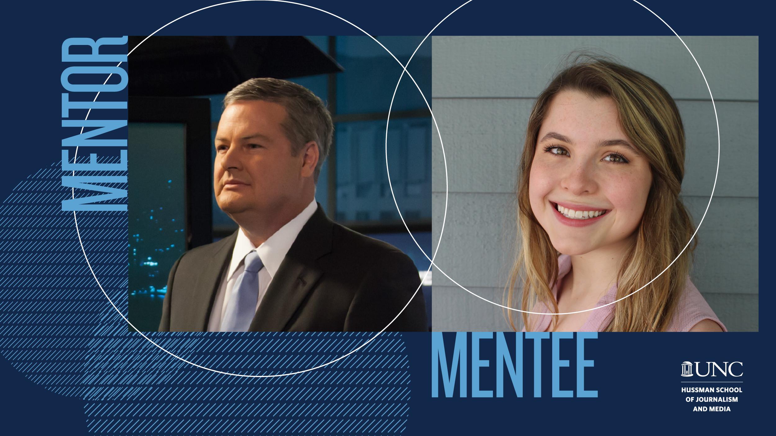 Mentor/mentee pairing Stephen Stock/Sarah Gray Barr