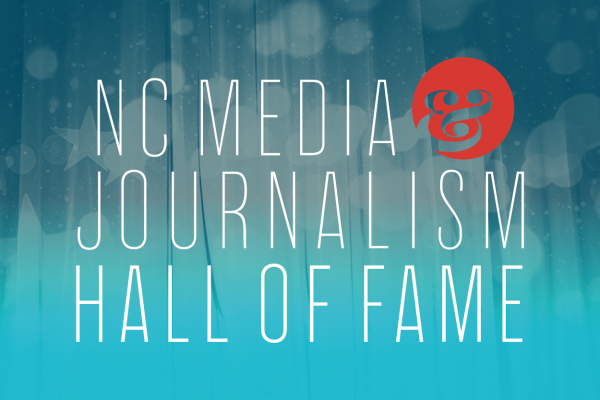 NC Media and Journalism Hall of Fame